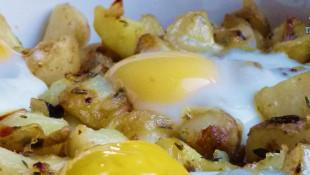 Yumurtalı Patates Kavurma