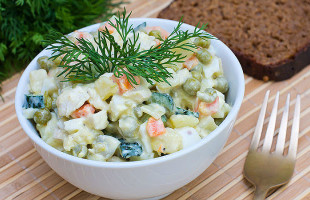 Kolay Rus Salatası Tarifi