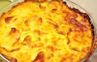 Fırında Rendelenmiş Patates Yemeği