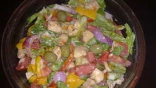 Pratik Tavuk Salatası