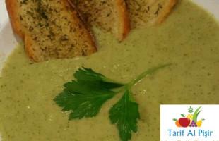 Sebzeli Brokoli Çorbası