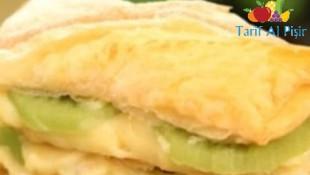 Milföy Hamurundan Kivili Pasta Tarifi