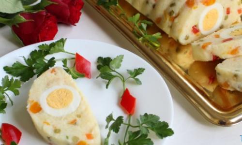 Yumurtalı Patates Salatası Tarifi