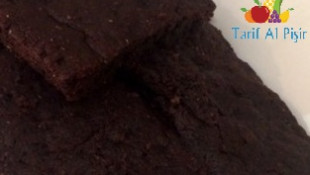 Tatlı Patatesli Brownie