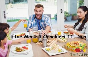 iftar Menüsü Örnekleri 11. Gün