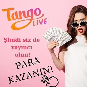 Sponsor Tango Live Yayıncısı Ol